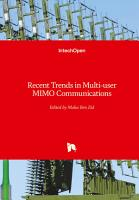 Recent Trends in Multi user MIMO Communications PDF