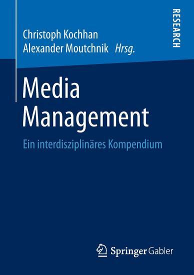 Media Management PDF