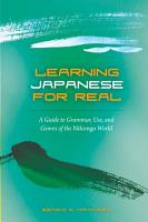 Learning Japanese for Real PDF