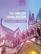 The English Legal System PDF