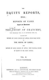 The Equity Reports, 1853-1855: Michaelmas term, 1853 to Michaelmas term, 1854, l7 & 18 Vict