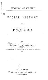Social History of England