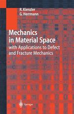 Mechanics in Material Space