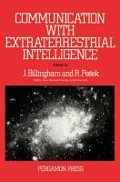 Communication with Extraterrestrial Intelligence PDF