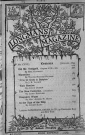 Longman's Magazine: Volume 26