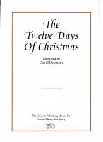Twelve Days of Christmas PDF