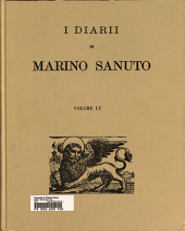 I diarii di Marino Sanuto ...
