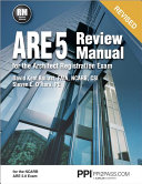 ARE 5 Review Manual for the Architect Registration Exam PDF