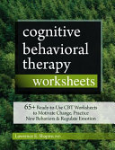 Cognitive Behavioral Therapy Worksheets PDF