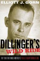 Dillinger s Wild Ride PDF