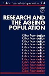 Research and the Ageing Population