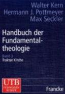 Handbuch der Fundamentaltheologie PDF