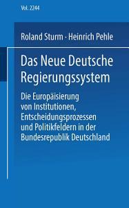 Das neue deutsche Regierungssystem PDF