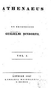 Athenaeus: Volume 1