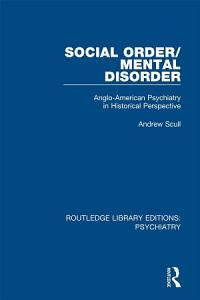 Social Order Mental Disorder PDF