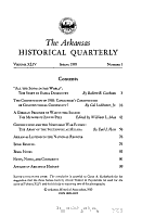 The Arkansas Historical Quarterly PDF