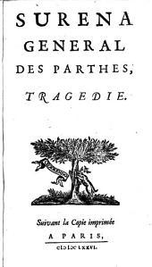 Surena, general des Parthes, tragedie