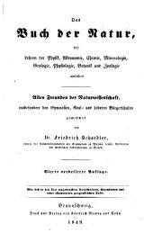 Das Buch der Natur: die Lehren der Physik, Astronomie, Chemie, Mineralogie, Geologie, Botanik, Zoologie und Physiologie umfassend