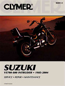 Clymer Suzuki VS700-800 Intruder, 1985-2004