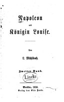 Napoleon und K  nigin Louise PDF