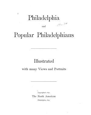 Philadelphia and Popular Philadelphians PDF