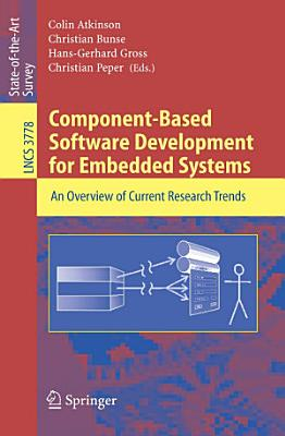 Component Based Software Development for Embedded Systems PDF