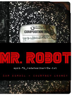 MR  ROBOT  Red Wheelbarrow
