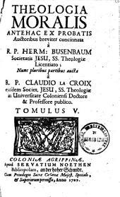 Theologia moralis: Volume 5