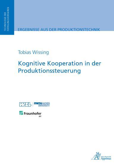 Kognitive Kooperation in der Produktionssteuerung PDF