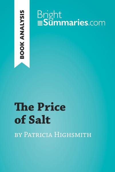 The Price of Salt by Patricia Highsmith (Book Analysis)