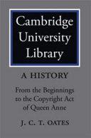 Cambridge University Library: A History