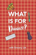 Whats for Dinner Notebook  52 Week Planner with Grocery List PDF
