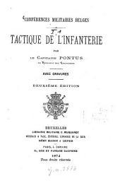 Tactique de l'infanterie: Avec gravures