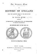 A History of England, from the Earliest Times to the Revolution in 1688