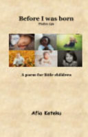 Before I was Born  Psalm 139  Book