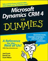 Microsoft Dynamics CRM 4 For Dummies PDF