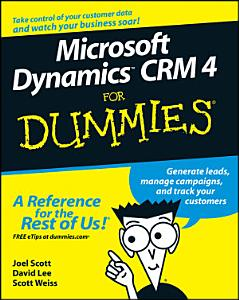 Microsoft Dynamics CRM 4 For Dummies PDF