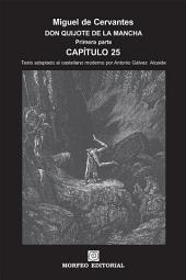 DON QUIJOTE DE LA MANCHA. CAPÍTULOS ESCOGIDOS. Capítulo 25 (texto adaptado al castellano moderno por Antonio Gálvez Alcaide)