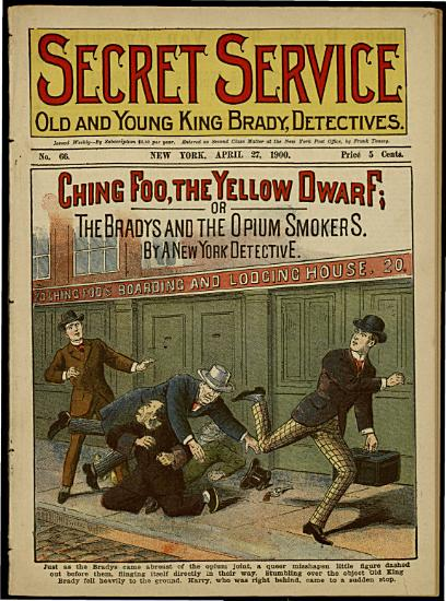 Ching Foo  the Yellow Dwarf  Or the Bradys and the Opium Smokers PDF