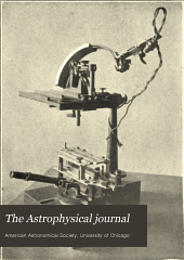 The Astrophysical Journal: Volume 38