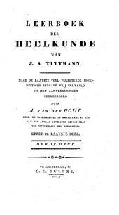 Leerboek der heelkunde: Volume 3