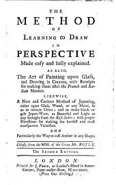The Method Of Learning To Draw In Perspective Made Easy And Fully Explained