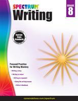 Spectrum Writing Grade 8