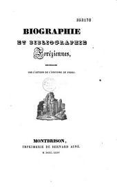 Biographie et bibliographie foréziennes