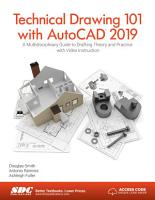 Technical Drawing 101 with AutoCAD 2019 PDF