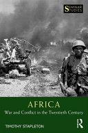 Africa  War and Conflict in the Twentieth Century PDF