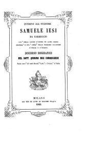 Intorno all'incisore Samuele Iesi da Correggio: ... discorso biografico