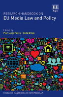 Research Handbook on EU Media Law and Policy