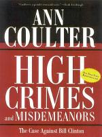 High Crimes and Misdemeanors PDF