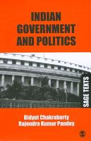Indian Government and Politics PDF